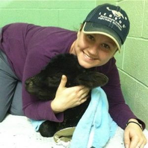 Justine, Veterinary Assistant