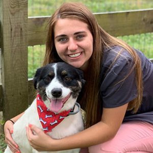 Sydney is attending MTSU pursuing an undergrad degree in Animal Science so that she can apply for vet school. She plans to go to the University of Tennessee at Knoxville. She started working with us in April 2018. When she is not at work, she enjoys spending time with her family, friends, and animals. She has 3 dogs, 1 cat, and 2 baby calves. She enjoys her job because she truly loves helping animals.